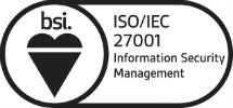 BSI ISO 27001 Information Security compliance logo